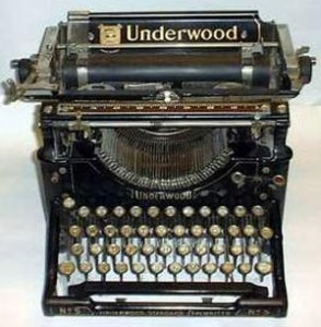 underwood-typewriter